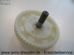 Ersatzteile für BLACK & DECKER , GETRIEBEZAHNRAD MIT WELLE >>> 53 ZÄHNE, DURCHMESSER 8 CM <<< - (Art.Nr. 323449-01)