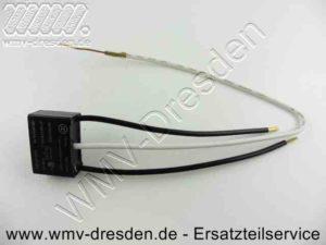 Entstoerkondensator 26x18x10 mm, 0,22 mF, flach, 3 Anschlüsse, Kabellänge 10 und 25 cm !!! siehe Zusatzinfos !!! - (Art.Nr. 343252530-365)