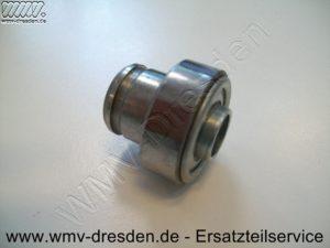 Kugellager mit Hülse, in der eine kleine Nut gefräst ist - (Art.Nr. 587070201-ELE)