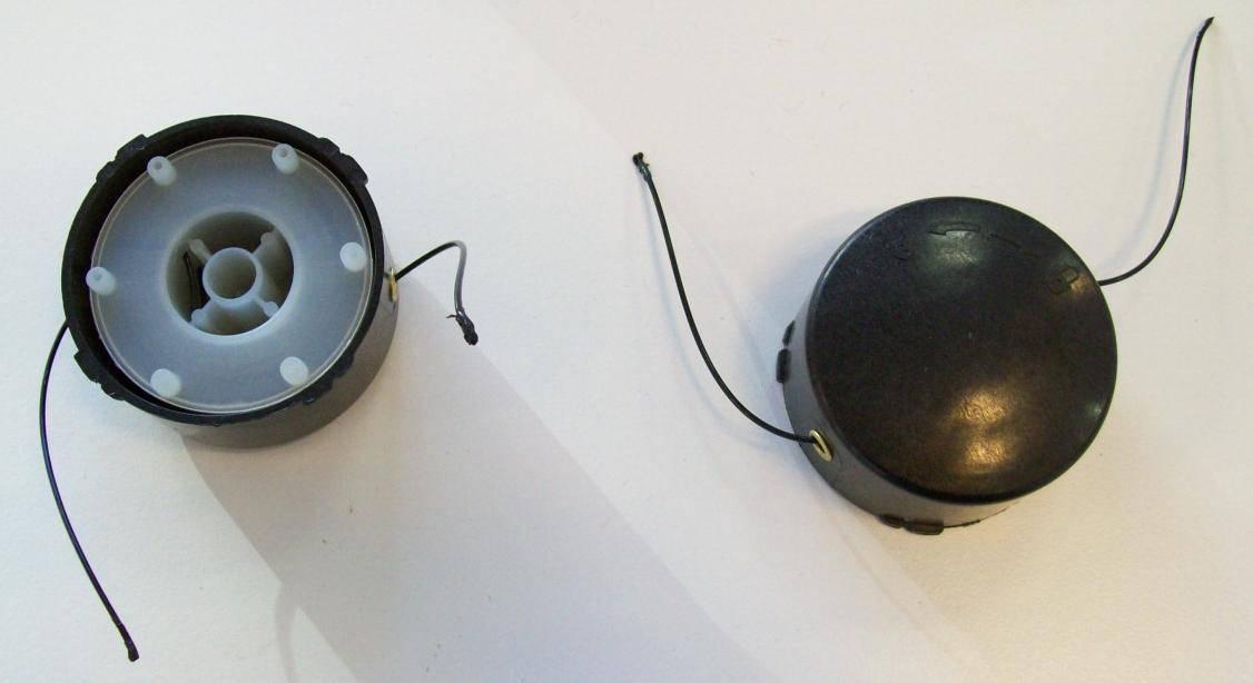 1 Ersatzspule Ersatz Spule Fadenspule für Rasentrimmer GRIZZLY TR 3000