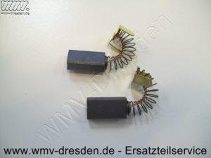 ATIKA Ersatzteil 362899 - Kohlebürstenpaar für T 250 / T 250 Eco Maße 6,2 x 10,8 mm, 19,5 mm lang, Litze 22mm