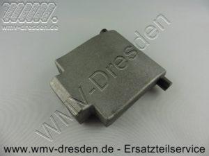 Gegenplatte 380312 für Häcksler, Länge 9 cm, Breite 7 cm