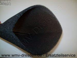 Naßfilter 3er Pack für PNTS 35/5, Schaumstoffüberzug ca. 12 cm Durchmesser