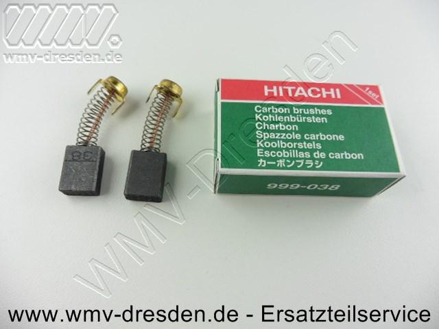 Kohlebürstenpaar 999038 für Hitachi G23SS