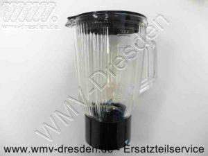 Mixbehälter Glas mit Messer und Deckel für alle Quigg KM 2010